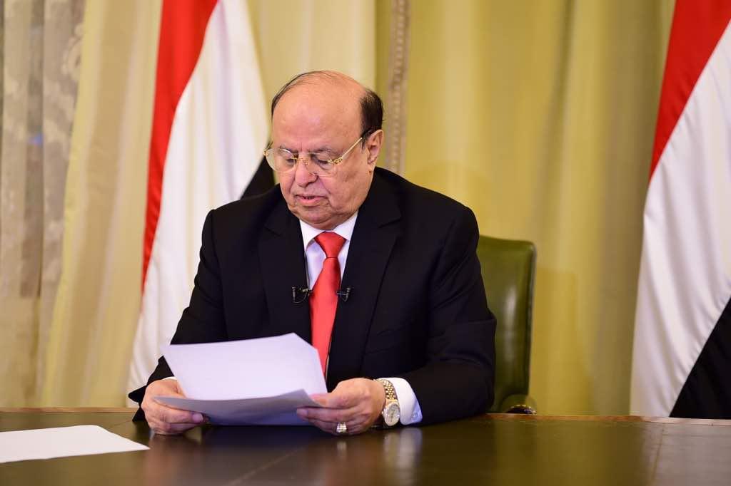الرئيس هادي يفاجئ الإنتقالي بشرط جديد مقابل عودة الحكومة الى العاصمة عدن .. تعرف عليه