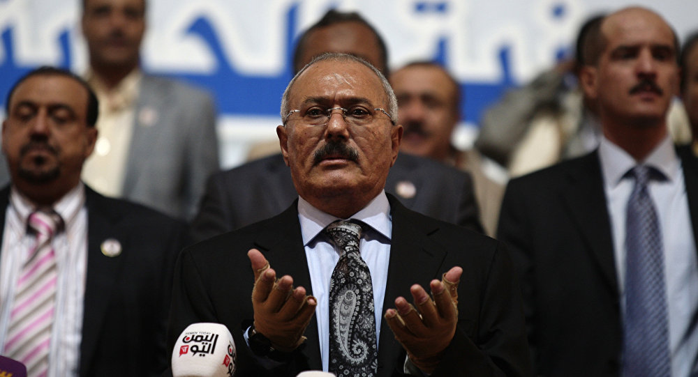 تكشف لأول مرة ..رسالة أخيرة للرئيس الراحل ' صالح ' قبل قتله بلحظات و لمن كتبها و مفاجأة ماجاء فيها .. وهذه تفاصيلها